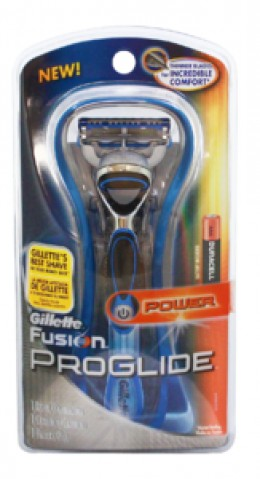 Gillette ProGlide and Gillette Fusion razors cannot be beat for giving any man that clean, close shave that women love.