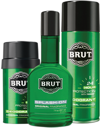 The old and trusted, Brut Cologne can give any man that rugged, manly aroma and make his wife or girlfriend want to be near him.