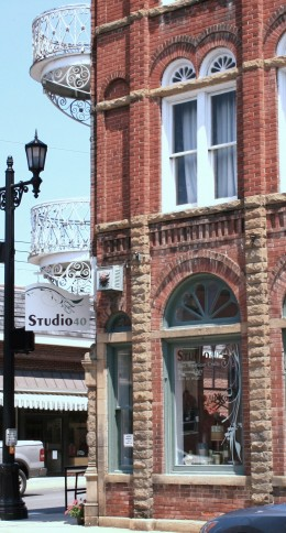Studio 40 is a trendy art boutique with clothes, paintings, pottery and more. It has a sister store by the same name, is at Greenbrier Resort.