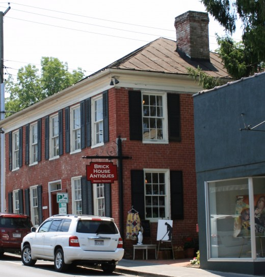 Brick House is one of several antique stores in Lewisburg.