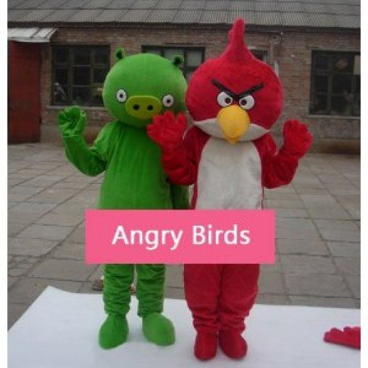 Angry Birds Adult sized costumes