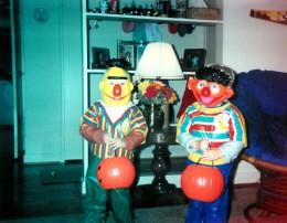 Bert and Ernie!
