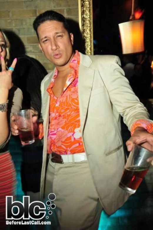 This the REAL LOSER who shows up a parties intoxicated, loud, brazen and showing off his scattered chest hair, cheap jewelry around his neck and his obviously-wrong choice of fashions.