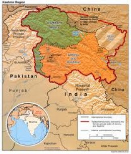 THE REASON THAT WE CAN'T GO TO KASHMIR BYPASSING JAMMU CAN BE SEEN IN THE MAP.CHINA AND PAKISTAN ARE ATTACHED ON EITHER SIDE OF KASHMIR.