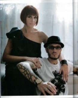 Valerj Pobega (upper left) and her Husband Mattia Biagi