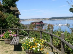 Coupeville Warf in summertime