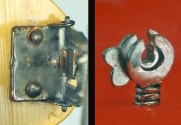 Close up example of original Bakelite hardware