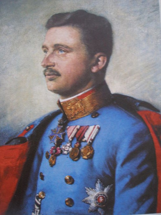 The last King and Emperor of Austria-Hungary, Charles I