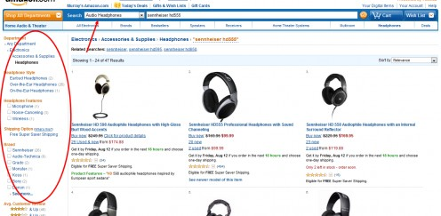 Browse through categories in Amazon based on the niche ideas you've generated. Find out what products are hot sellers and pay close attention to the ratings because this is a good indication that they sell well.