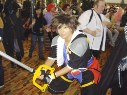 A Sora cosplay (Kingdom Hearts)