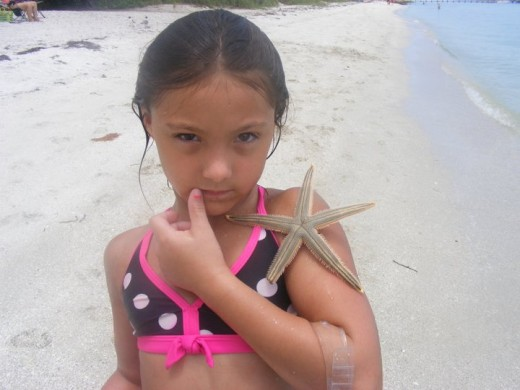 Snorkel for starfish.