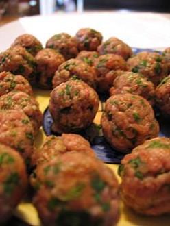 Italian Meatballs / Hamburgers