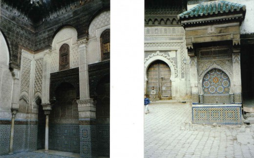 Meknes, Morocco, mausoleum of Moulay Ismail, Imperial Gate