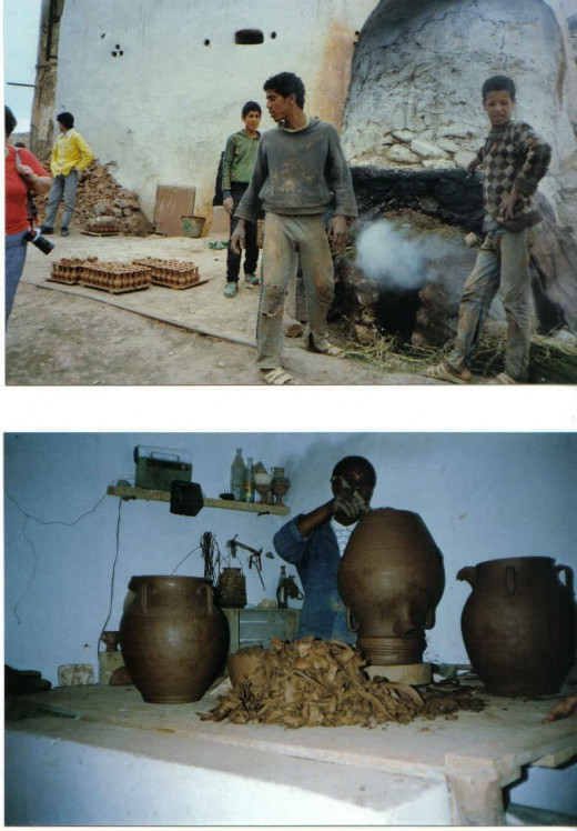 pot/vase makers, Morocco