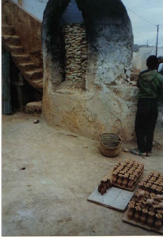 pot makers, Morocco