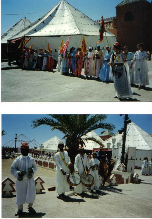 Moroccan natives, Maroccan Fantasia