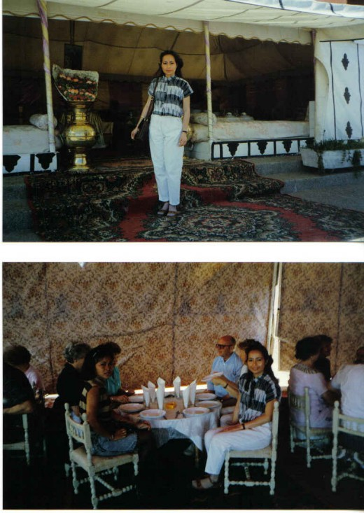 Lunch in The Berber Tent, Maroccan Fantasia Event