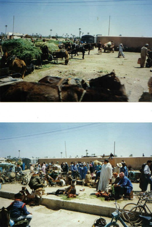 market station, Morocco