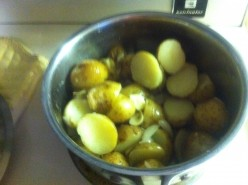 Potatoes Sauteed in Garlic, Onion, and Butter Recipe