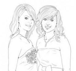 Best Friends - Lineart by Meado