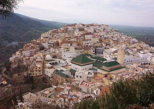 "Moulay Idriss - Moulay is a term roughly equivalent to ""Prince"" or ""Lord"". Idris founded both Fez and the city that bears his name. His tomb, located in Moulay Idriss, is a pilgrimage site for Muslims. The mosque, however, is off limits to non-Muslim"