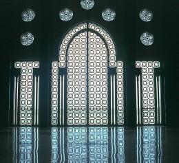 Casablanca - Marokko Mosque Hassan II