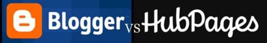 Blogger vs HubPages