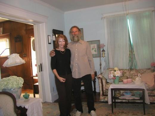 Al and I at 4th Street