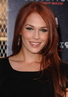 Amanda Righetti could be appearing in The Avengers as a superhero