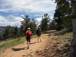 Deer Mountain Trail near Trail Head