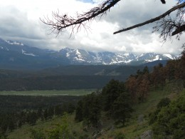 Storm Clouds: View from Deer Mountain Trail
