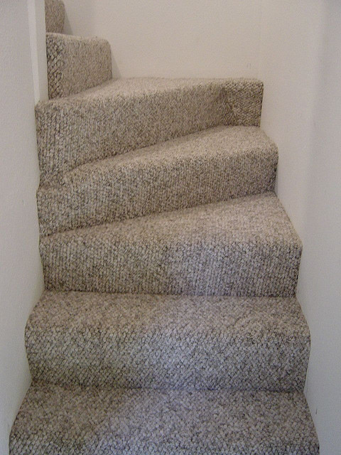 Natural color Berber can be ideal for a small space or with bold fabrics on furniture.