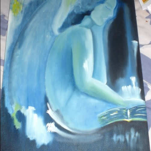 Abstract angel(my nomination to Ugliest painting ever)