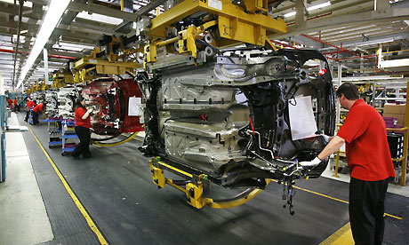 Cars Being Assembled In the United States