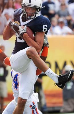 WR Derek Moye (Penn State)