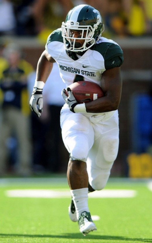 RB Edwin Baker (Michigan State)