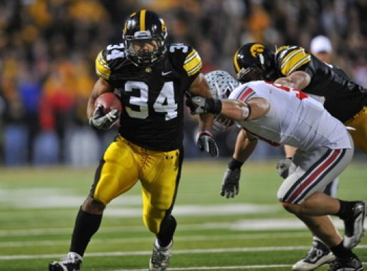 RB Marcus Coker (Iowa)