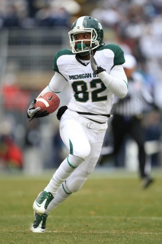 WR Keshawn Martin (Michigan State)