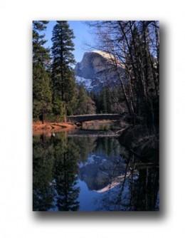 Half Dome in Yosemite National Park. It's a BIG rock.