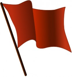 Red Flag Warning - So Grateful for Receiving It