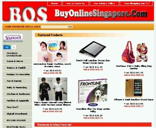 Buy and Sell on Singapore's fastest growing Online Store