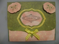Easy to Make Friendship 2-Way Fold Card