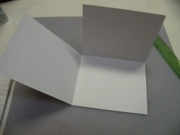 The card will open 3-ways