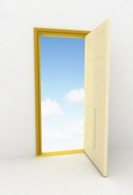 Expand your window to a door.