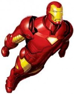 Iron Man - costume too heavy and has YELLOW in the color scheme. I don't want the fictional character, Iron Man's secret identity, Tony Stark's, drinking problem. Iron Man is too much for me to handle.