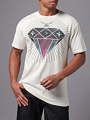 How about the all-seeing eye in the middle top of the diamond? And the pyramid with lightning bolts above it?