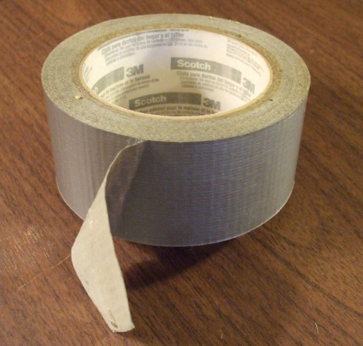 Duct tape is the Handyman's secret weapon!