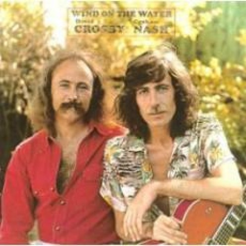 """Crosby and Nash album cover for """"Wind on the Water"""""""
