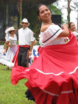 From the Feria America Tropical, a celebration of various foods from around Latin America.