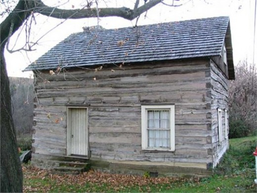 The original home my ancestors built after settling in Pennsylvania.